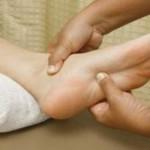 Reflexología podal, manos y masaje de pies