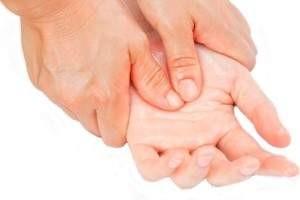 Reflexología manos